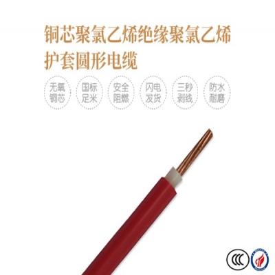铜芯聚氯乙烯绝缘/屏蔽聚氯乙烯护套软电线
